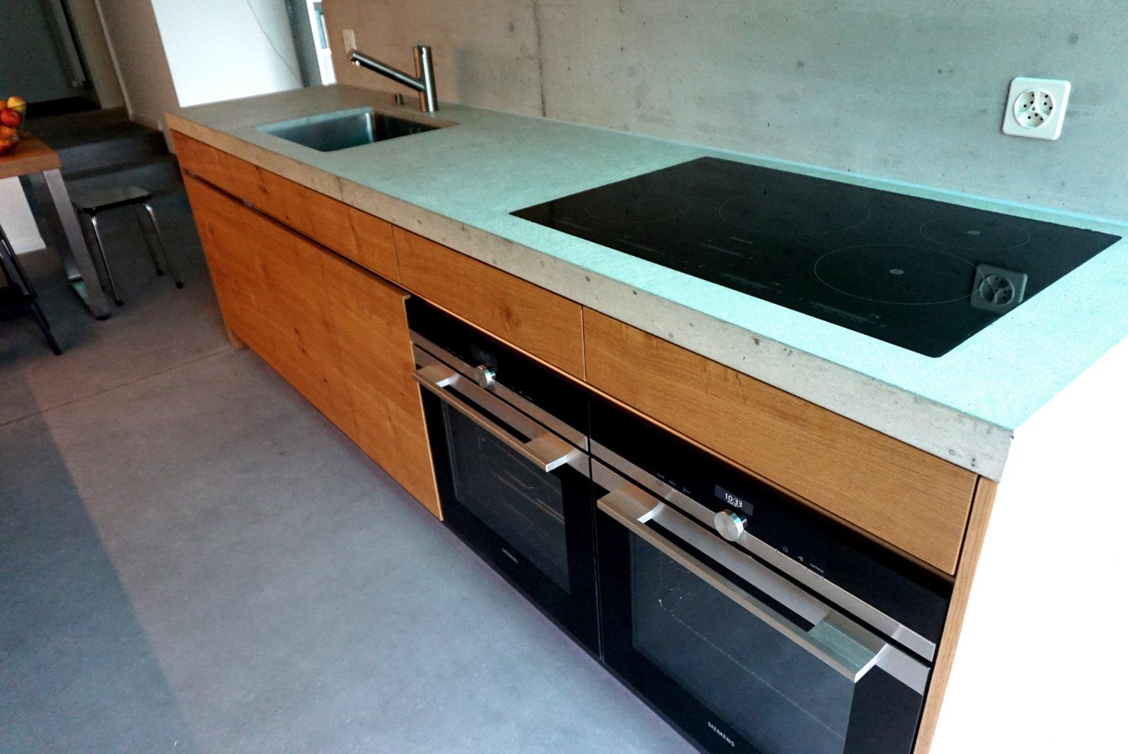 Küchenabdeckung Beton design küchenabdeckung aus beton albisbrunn