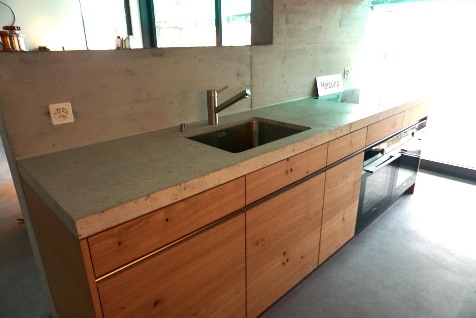 Küchenabdeckung Beton design der küchenabdeckung vom baubetrieb albisbrunn