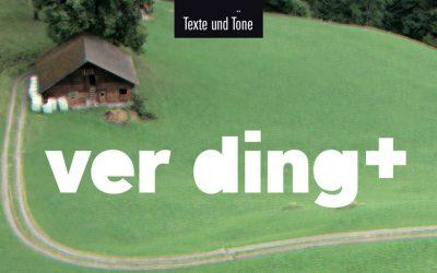 """20. und 21. März Theater """"Ver-Ding"""" in Albisbrunn"""