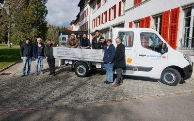 Albisbrunn T&O – jetzt mobil dank Spenden